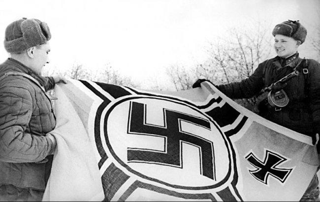 Великая отечественная война.  Фото тех времен.